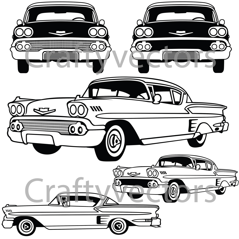Chevrolet Impala Vector File