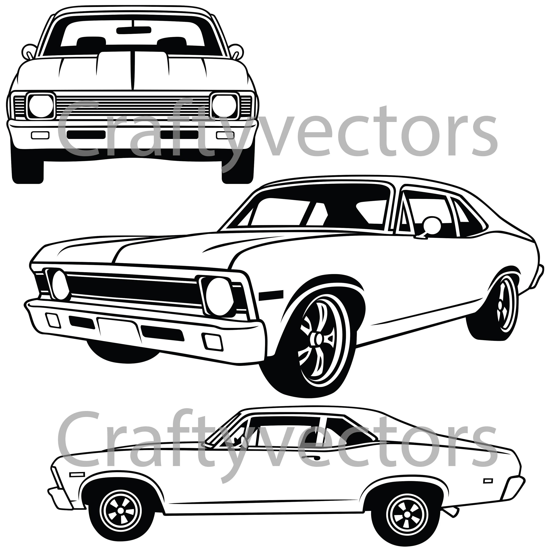 Chevrolet Nova Vector File