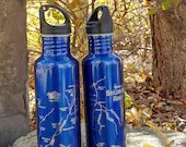 River Map WATER BOTTLE -P...