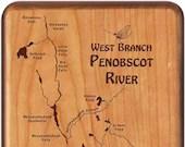 Penobscot River Map Fly B...