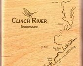 CLINCH RIVER Map Fly Box....