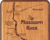 MISSISSIPPI River Map Fly...