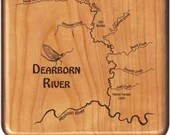 DEARBORN RIVER Map Fly Bo...
