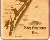 SAN ANTONIO BAY River Map...