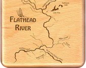 FLATHEAD RIVER Map Fly Bo...