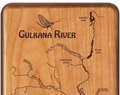 GULKANA RIVER Map Fly Box...