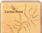 LOCHSA RIVER Map Fly Box....