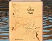 CEDAR RIVER Map Fly Box -...