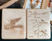 BLUE RIVER Map Fly Box. P...
