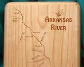 ARKANSAS  RIVER Map Fly F...