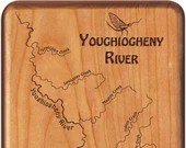 YOUGHIOGHENY RIVER Map Fl...