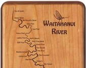 WAITAHANUI RIVER Map Fly ...