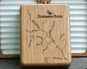 OZERNAYA RIVER Map Fly Bo...