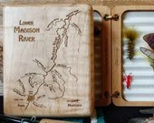 LOWER MADISON River Map F...