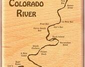 COLORADO RIVER Map Fly Bo...