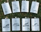 RIVER MAP FLASKS - Person...