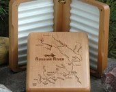 Fly Box-RUSSIAN RIVER MAP...