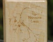 MAMMOTH LAKES River Map F...