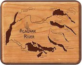 ALAGNAK RIVER Map Fly Box...