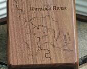 River Map Fly Box -WATAUG...