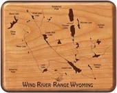 WIND RIVER RANGE River Ma...