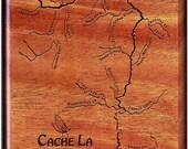 CACHE LA POUDRE River Map...