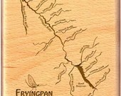 FRYING PAN RIVER Map Fly ...