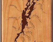 Lake CHAMPLAIN River Map ...