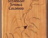 YAMPA RIVER Map Steamboat...