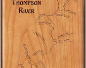THOMPSON RIVER MAP Fly Bo...