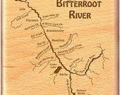 BITTERROOT RIVER MAP Fly ...