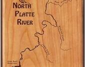 NORTH PLATTE River Map Fl...