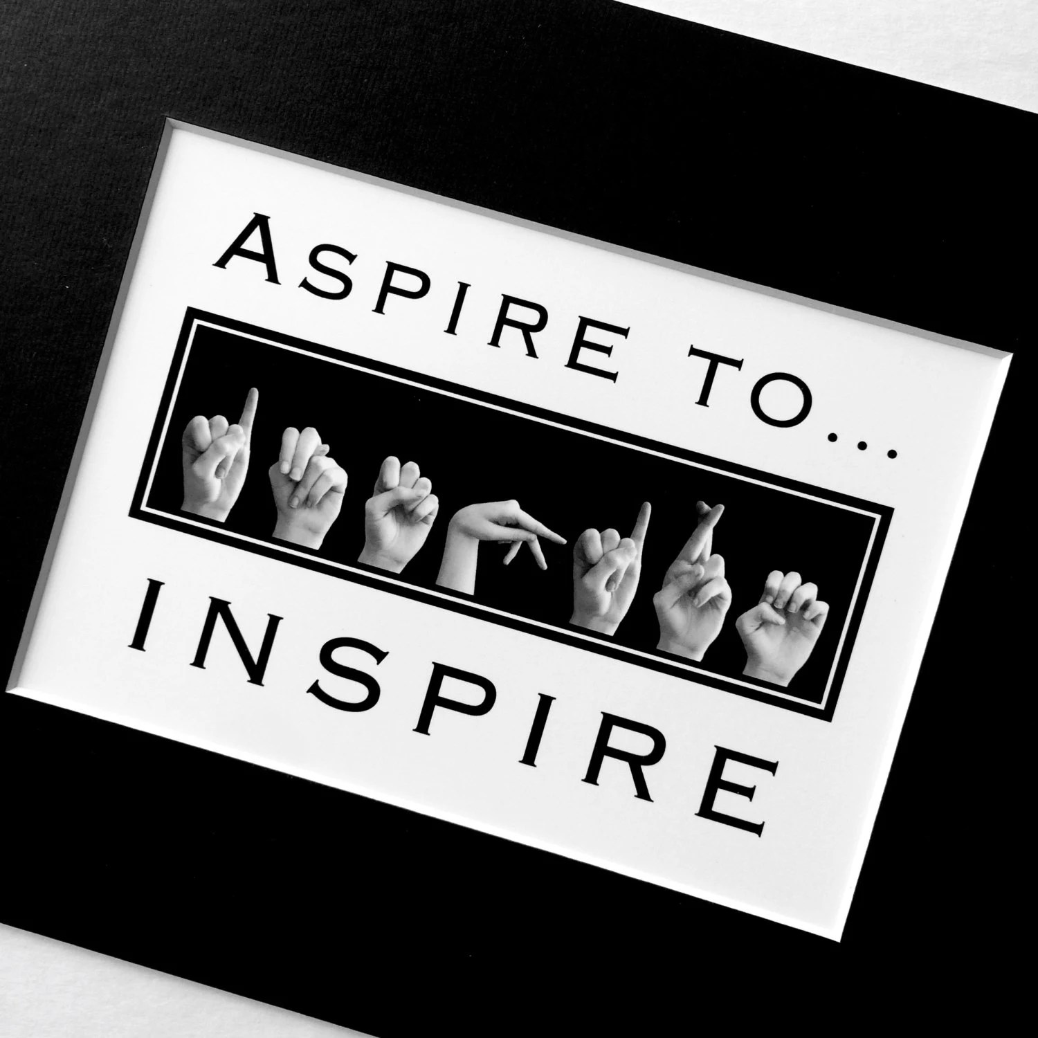 Asl Aspire To Inspire American Sign Language Letters