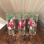 1950s Vintage 1960s Set Of 6 Libbey Horseless Carriage Tall Etsy