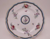 """Vintage Spode Made in England English Bone China """"Trapnell"""" Salad Dessert Pie Plate Y6836 - 9 Available"""