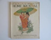 April 1925 Ladies Home Journal Magazine - The Virtuous Husband - Women's Fashion - Paris Fashion