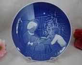 1978 Bing and Grondahl B G Christmas Collector Plate A Christmas Tale