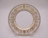 """Vintage Royal Worcester English Bone China """"Hyde Park"""" Bread and Butter Side Plate - 11 Available"""