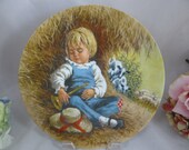 "1980 John McClelland Fairy Tale  ""Little Boy Blue"" Collector Plate Limited Edition"