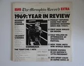 "Plays Well 1987 RCA Records Elvis Presley LP Vinyl Double Album ""The Memphis Record""  RCA 6221-1-R"