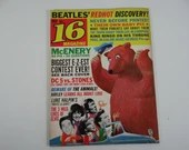 December 1964 Teen Magazine 16 Magazine Beatles Redhot Discovery