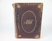 """1852 First Edition """"Cabinet of Modern Art"""" Hardcover book published by E.H.Butler & Co.  Antique Art Book"""