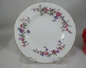 "Wedgwood English Bone China Bread and Butter Plate ""Devon Sprays"" Pattern"