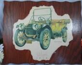 Vintage Large Biederman Classic Car Print - 1912 Packard