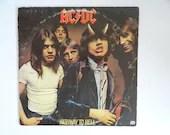 "Plays Well 1979 AC/DC Atlantic Records Vinyl LP Record Album  ""Highway to Hell"" Sd 19244  Hard Rock, Classic Hard Rock"