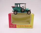 1960s Vintage Lesney Matchbox Y-3 Models of Yesteryear 1910 Benz Limousine Die Cast Car in Original Box