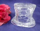 Vintage Fenton Daisy and Buttons Top Hat - A Bit of Whimsy in your Collection