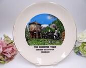 Vintage 1950s The Silverton Train Souvenir Plate