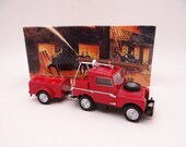 MIB Vintage Matchbox YFE02 Models of Yesteryear 1948 Land Rover Auxiliary Fire Truck Diecast Model Fire Engine