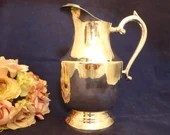 Silverplate EPNS Pitcher with Ice Guard Lovely